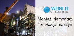Relokacja maszyn - Worldetchnix